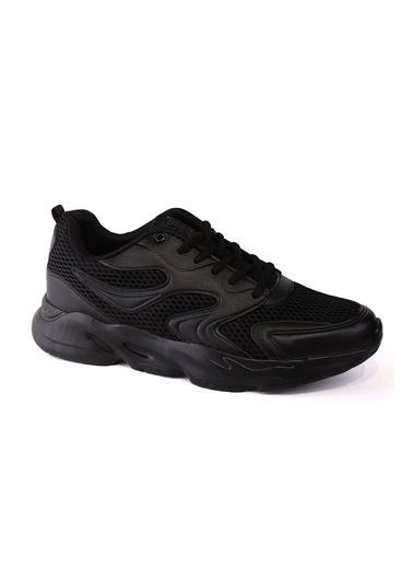 LC Waikiki Leva Erkek Spor Ayakkabı - Siyah Siyah Siyah